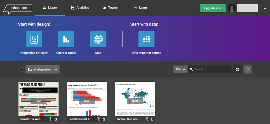 Best Tools For Creating Infographics Infogram