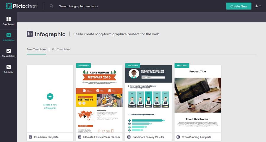 Best Tools For Creating Infographics Piktochart