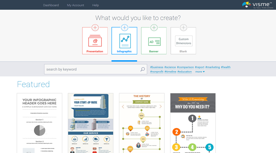 Best Tools For Creating Infographics Visme